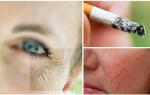 Влияет ли курение на кожу