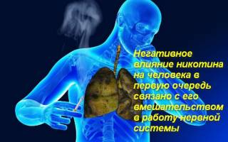 Как избежать никотинового отравления