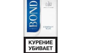 Bond compact blue никотин