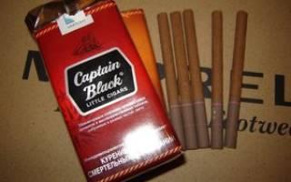 Виды сигарет капитан блэк