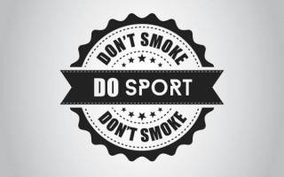 Если курить и заниматься спортом что будет