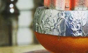 Как забить кальян на апельсине