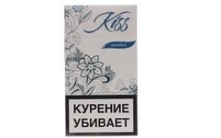 Kiss brown сигареты вкус