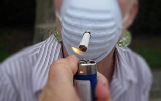 Влияние никотина на дыхательную систему