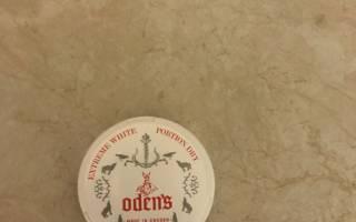 Odens cold dry никотин