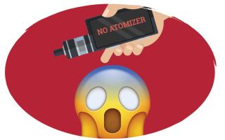 No atomizer что это значит