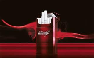 Давидофф сигареты содержание никотина