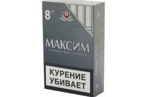 Выпускают ли сигареты максим премиум