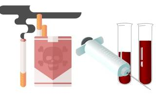 Анализ крови можно ли курить