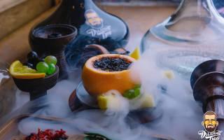 Забивка кальяна на фруктах