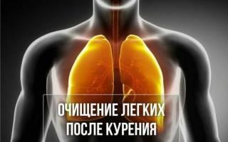 Болят легкие после отказа от курения