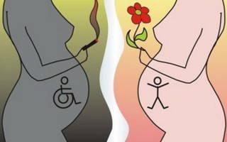 Влияние курения мужчины на зачатие ребенка