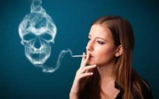 Вред от сигарет для женщин