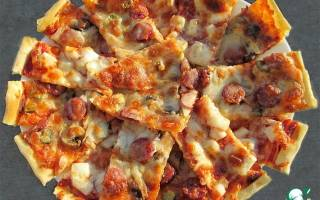 Ингредиенты для классической пиццы