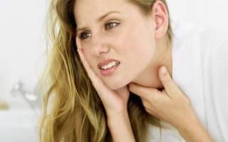 Болит горло после отказа от курения