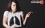 Как быстро восстановить легкие после курения