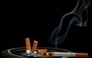 Как быстро устранить запах сигарет