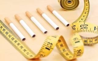 Бросила курить и потолстела