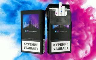 Вкусы кнопок в сигаретах
