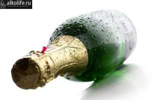 Где больше градусов в вине или шампанском